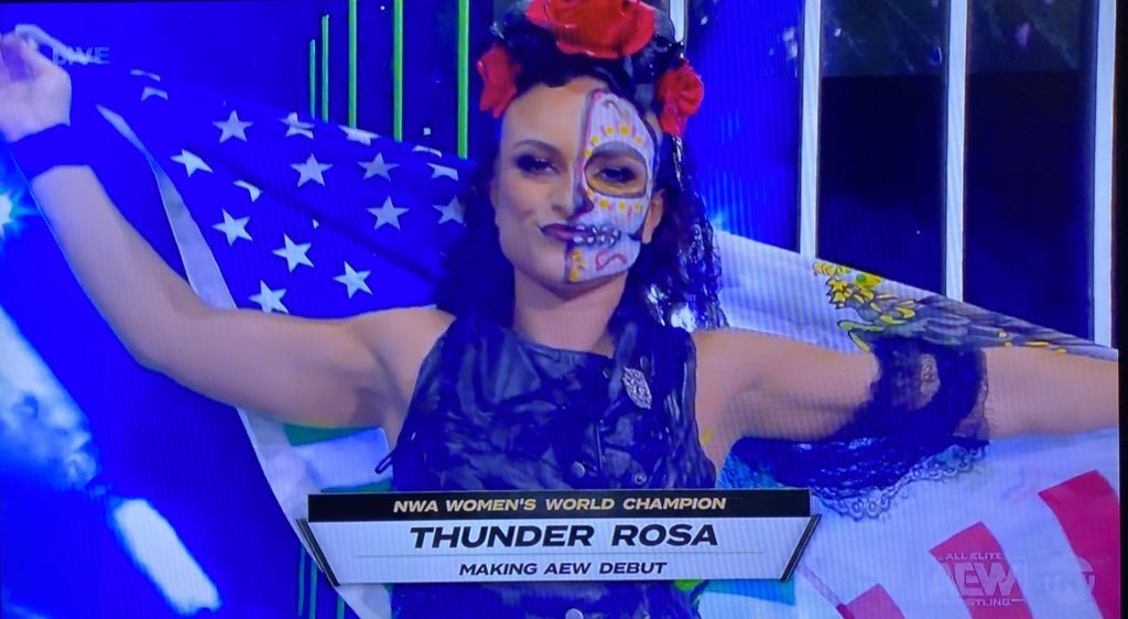 Thunder Rosa On Criticism Faced By AEW's Women's Division