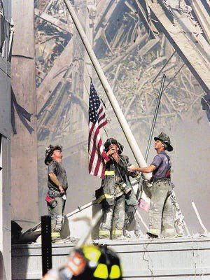 On September 11 2001 the world watched in horror as our freedom was attacked.The next day the world watched us come together to prove the American spirit is stronger than any challenge. We swore we would never forget. Our firefighters, police and first responders were our Heroes https://t.co/2vG31Qxgu8