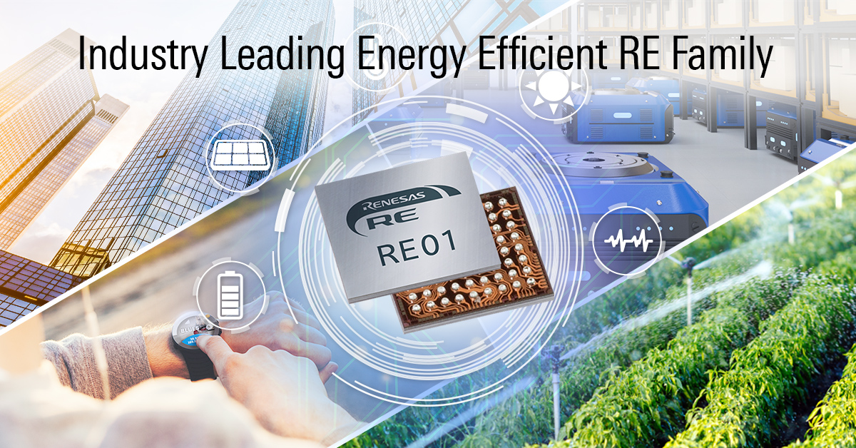 The world's highest level of power efficiency (ULPMarkTM -CP score of 705) for #Renesas #REFamily is the best choice for #IoT applications. Read this blog by Takuhiro Narita –  https://t.co/ttvN0e8tnA #SOTB https://t.co/BCuC60qExc