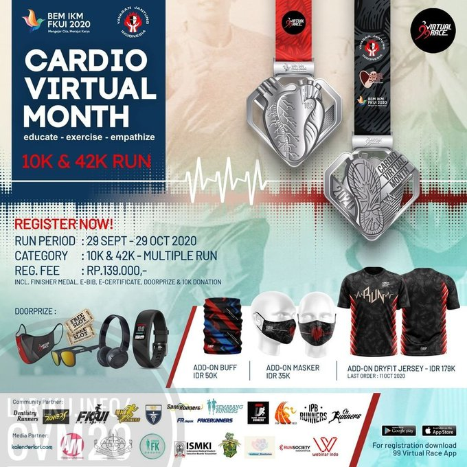 Cardio Virtual Month • 2020