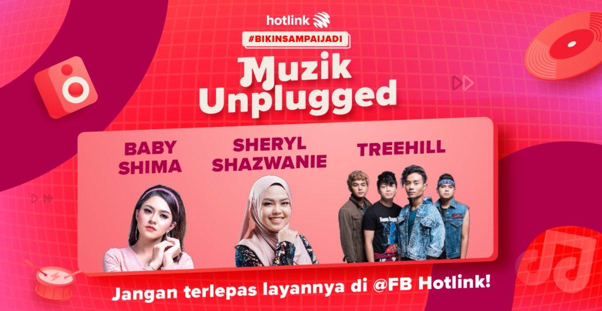 Hanya sekejap jer lagi gaiiis! Jgn lupa layan #BikinSampaiJadi Muzik Unplugged di FB Hotlink nanti! @babyshimareal , @sherylshazwanie & Treehill akan mempersembahkan beberapa lagu untuk anda semua secara LIVE! Chekidout gaiis di https://t.co/ILokysCvbU https://t.co/axZA6ILYq0 https://t.co/hXy6vBOE19