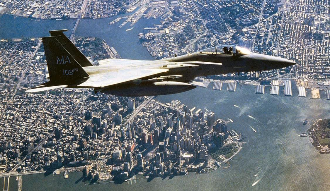 On this day 19 years ago the F-15Cs now assigned here responded to our nations call. Join us today at 8:46 a.m. for a moment of silence in remembrance of the terrorist attacks that occurred that day. #neverforget #rememberthefallen #911memorial #f15s https://t.co/oIbndOMNRv