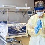 Image for the Tweet beginning: 113 sundhedsansatte er smittet med