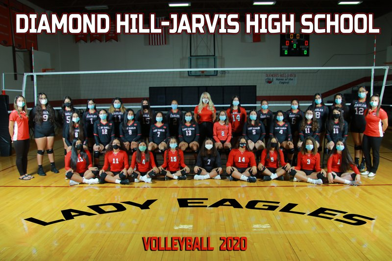 Our DHJ Volleyball team plays today against Benbrook High School at Benbrook. Go, Lady Eagles! #WeAreDiamondHill