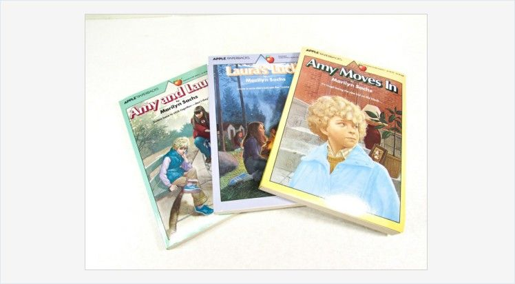 Marilyn Sachs Books Amy and Laura Amy Moves In and Laura's Luck Vintage Apple Paperbacks #Scholastic #vintage #amyandlaura #youngreaders #vintagebook #Apple #girlstories