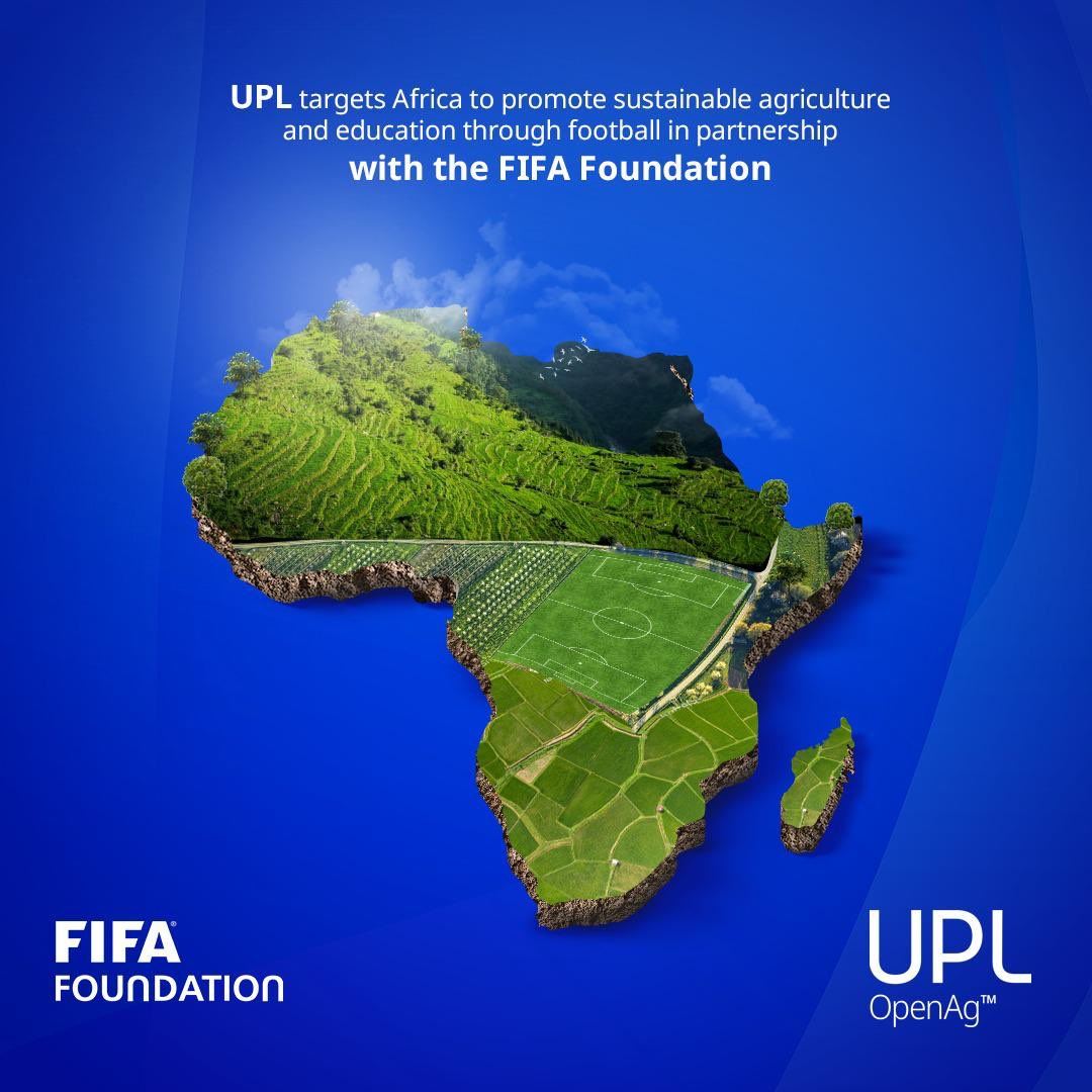 In association with the @FIFAcom, we recently executed a MoU, where UPL is collaborating with the FIFA Foundation's Football for Schools program. We are proud to announce that Africa is being targeted to pursue these initiatives. Read More - https://t.co/7qUAE7wRcu @FIFAMuseum https://t.co/4pIg5XcM2H