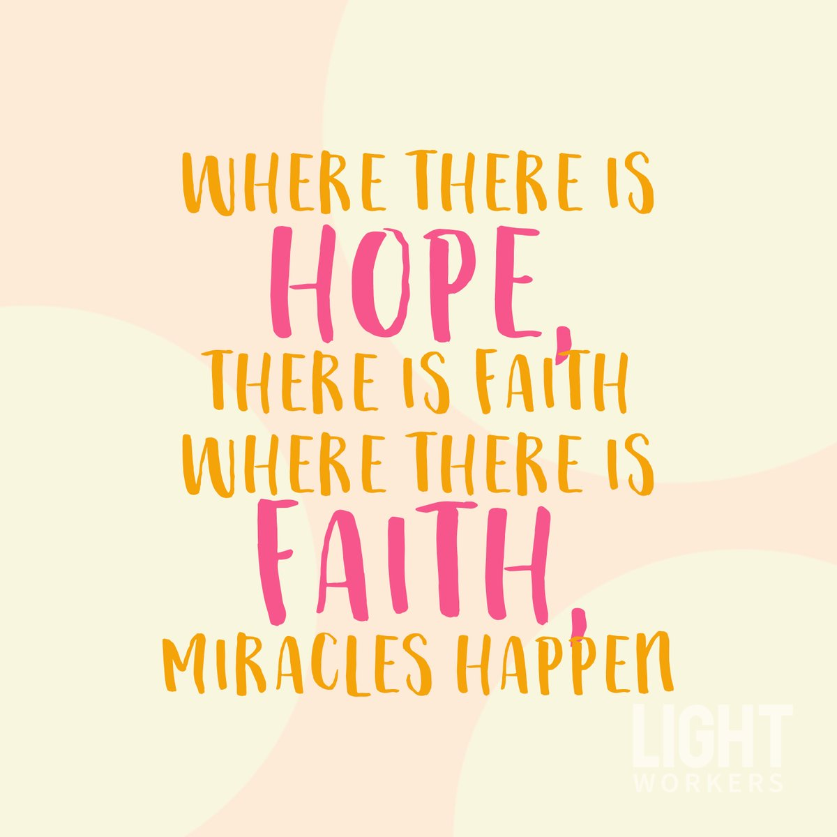 Always have HOPE because MIRACLES do happen! ✨
