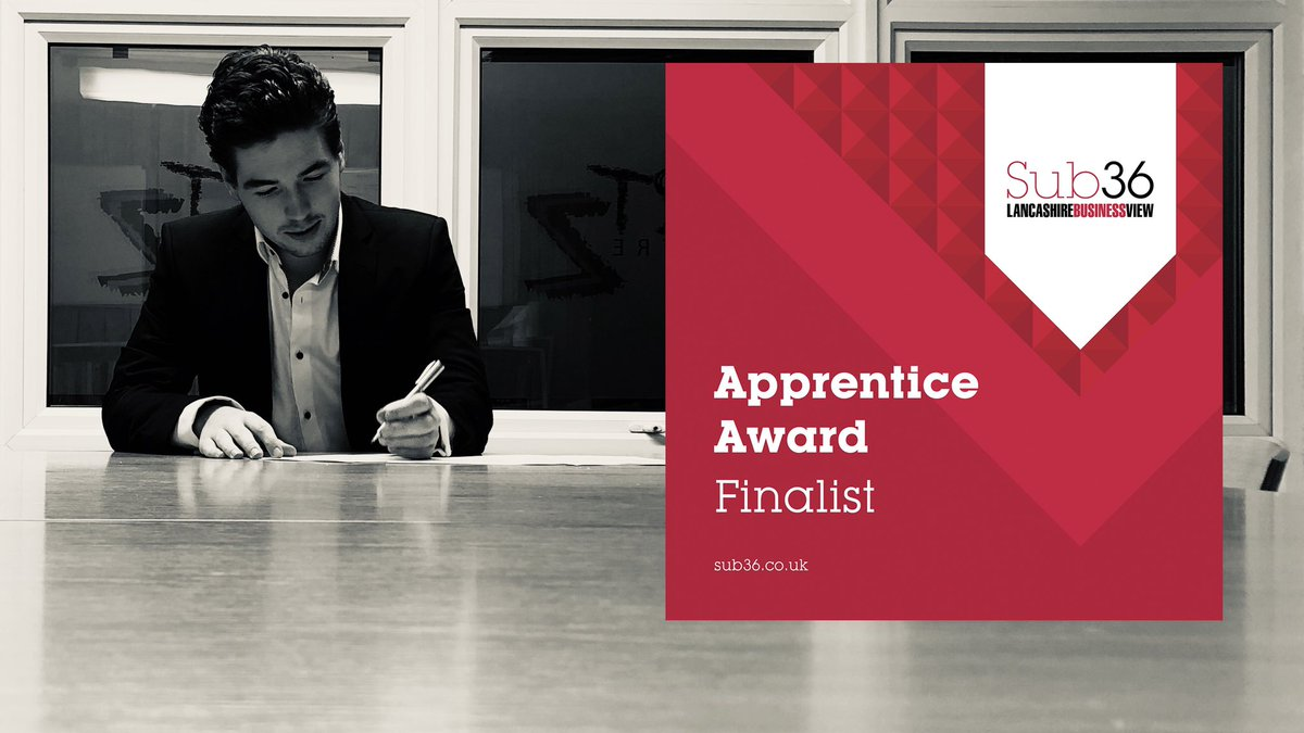 BREAKING NEWS !!!!  We're delighted to announce that our very own Apprentice Joe Howard has been named as a finalist for the Sub36 Apprentice Award; recognising  the impact made by apprentices from across Lancashire.   @joe_howard99 @create_industry @LBVsub36 https://t.co/k1IWI7ZM9y