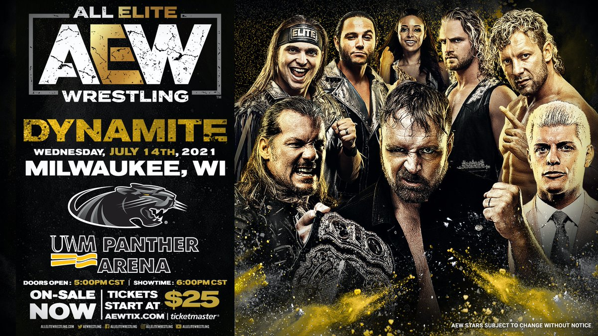 AEW Announces New Dynamite Dates For 2021