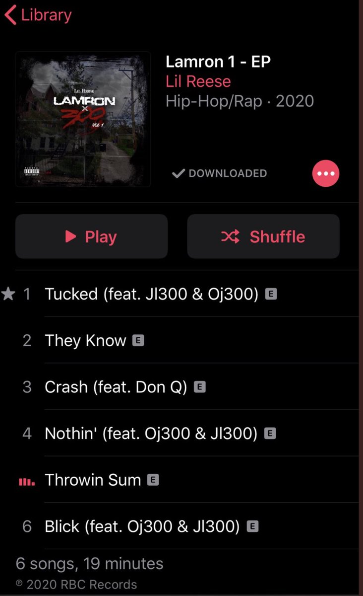 My dawg just dropped @LilReese300 🔥🔥🔥🔥