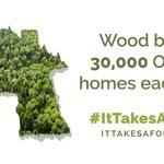 Image for the Tweet beginning: #DYK that a #wood-framed home