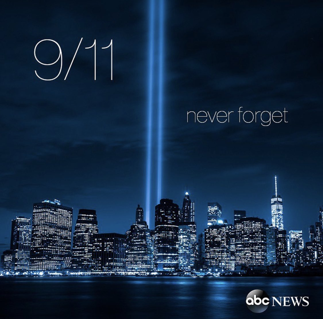 Never forget. 9.11.2001 ❤️