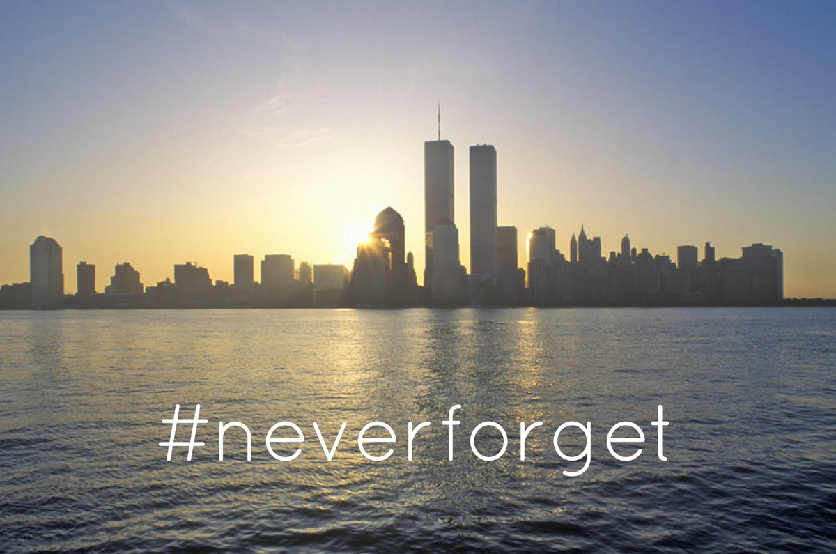 Say an extra prayer today... #NeverForget911 #911Remembered https://t.co/78clZoztD6