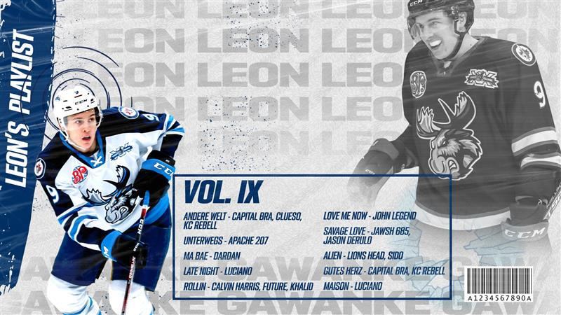 Looking for some new songs to add to your playlist? #MBMoose defenceman Leon Gawanke shares a selection of his top ten tunes. https://t.co/uB6goXLOy3