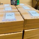 Image for the Tweet beginning: The first shipment of Rubik's