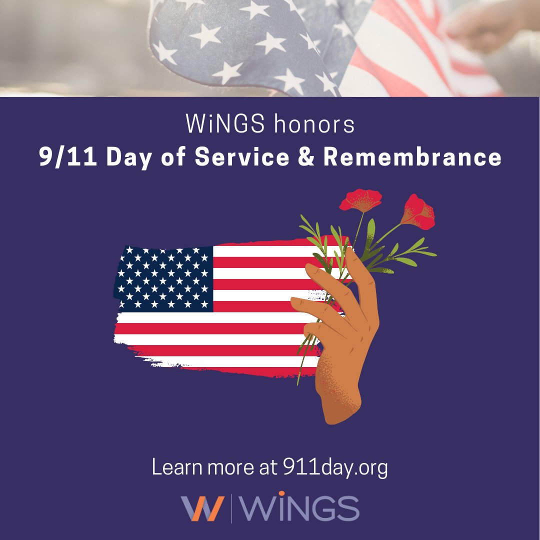 test Twitter Media - In honor of those who volunteered and those lost on 9/11, today our country comes together to serve neighbors through good deeds. WiNGS works with volunteers to impact our local community and create equity for generations. For more good deed ideas, visit https://t.co/ubIGiCvMRZ. https://t.co/bROEZCyMvY