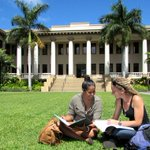 Image for the Tweet beginning: The University of Hawai'i at