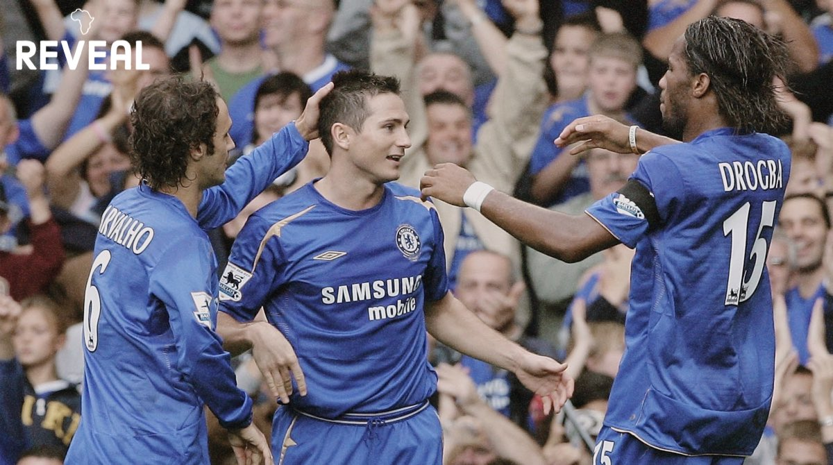 Chelsea striker Didier Drogba topped the 2005/06 assist charts with 11, becoming the first African player to achieve this feat in a single @PremierLeague season 🅰️🔵 Only Mahrez has been able to match that, earning 11 assists in the 2015/16 season. @didierdrogba #PremierLeague