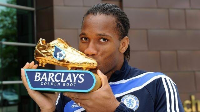 Didier Drogba is the first African player win the @PremierLeague golden boot after scoring 20 goals during the 2006/07 season 🏆🇨🇮 @didierdrogba #PremierLeague