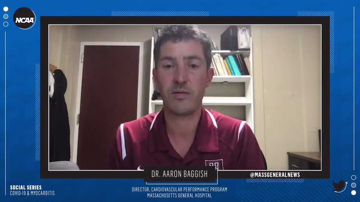 [The decision to play college sports] is more about the ability to contain transmission of the virus as a public health issue, rather than a cardiology issue. –Dr. Aaron Baggish of @MGHHeartHealth @ussoccer @usrowing @Patriots @NHLBruins @Harvard @NERevolution @bostonmarathon