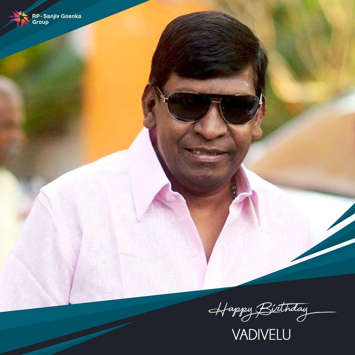 Birthday wishes to #VaigaiPuyal Vadivelu   #SaregamaWishes #HBDVaigaiPuyalVadivelu #HappyBirthdayVaigaiPuyalVadivelu https://t.co/a4qLfx6zka