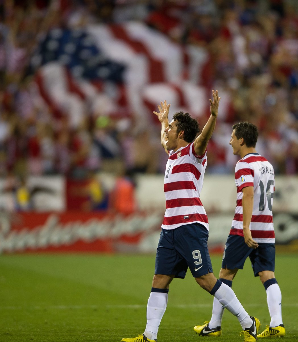 📅 | #OTD 2012: @herculezg's free kick is the difference in the 🇺🇸's pivotal 1-0 #WCQ win against 🇯🇲 in Columbus.