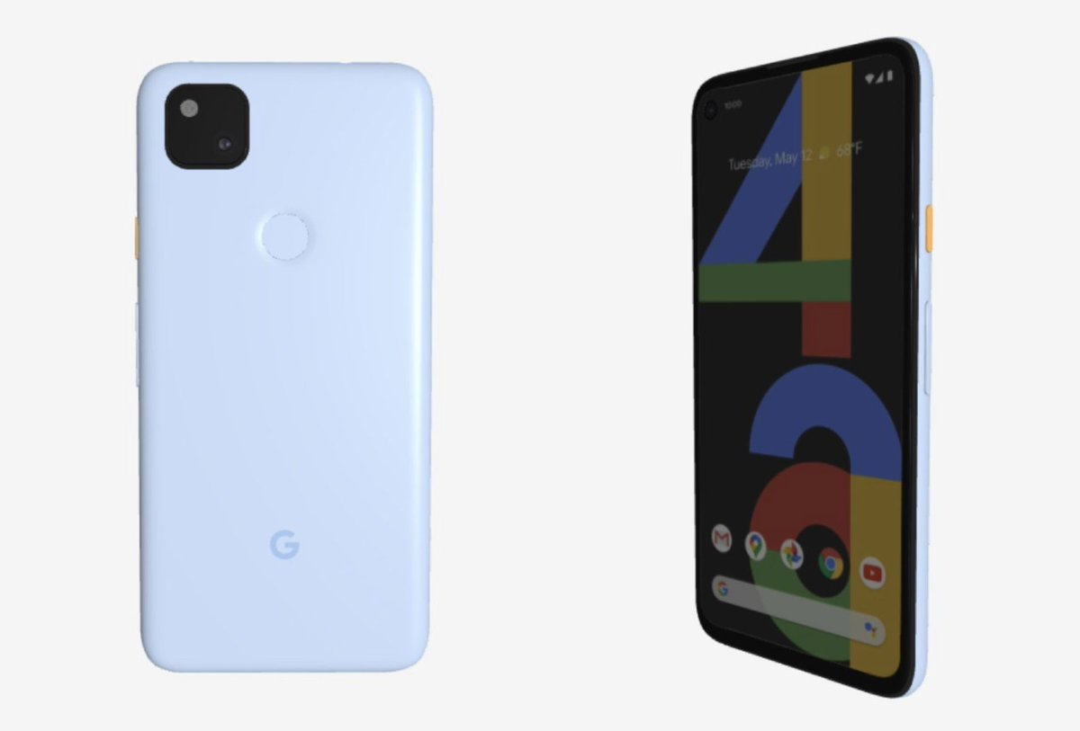 Google Store renders reveal the blue Pixel 4A that never was