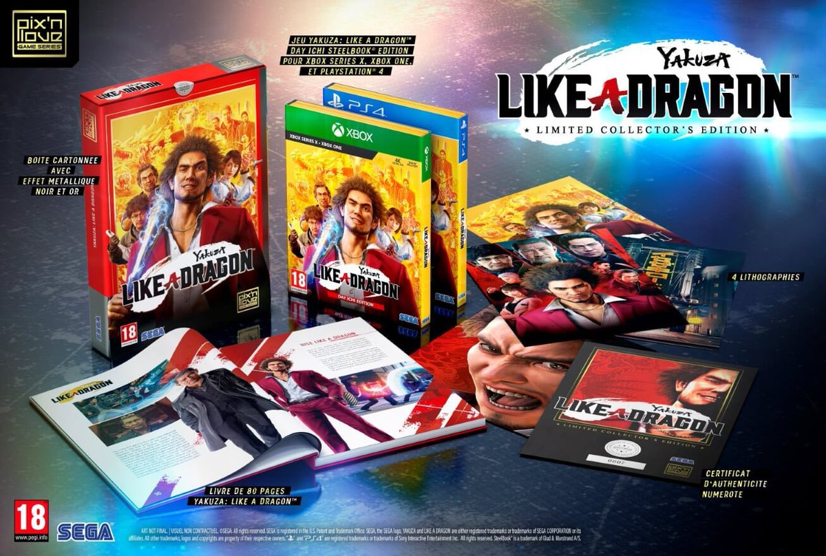 RT this tweet if you would buy an English version of the Yakuza: Like a Dragon Limited Collector's Edition.  @SEGA @Pixnlove