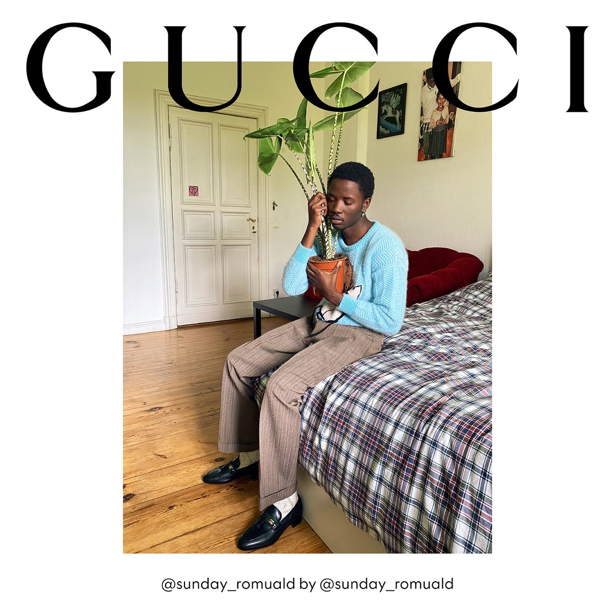 Wearing #GucciFW20, models including #SundayRomuald photograph themselves from the comfort of their own homes for the new campaign, #GucciTheRitual. https://t.co/Hq6G7EzoqI #AlessandroMichele https://t.co/Sl5PX08CHA