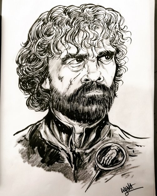 tyrion lannister  #tyrionlannister #sketch #GameofThrones #GOT https://t.co/2t9oJeAnAg