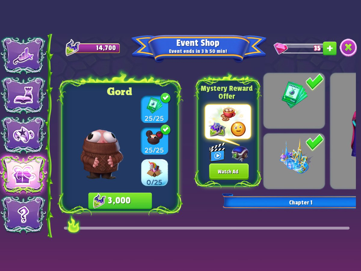 Welp. Chalk up another character to get down the line #DisneyMagicKingdoms https://t.co/If7fTzmk13