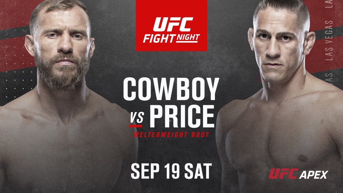 Don't blink. This will be all action! #ufcvegas11 #ufc #dontblink #actionpacked https://t.co/M39bFx2eRI