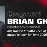 Image for the Tweet beginning: Congrats to Brian for being