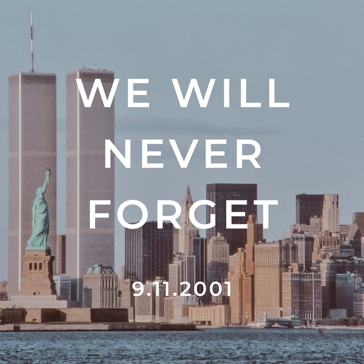 In remembrance of those we lost. #NeverForget 🇺🇸 https://t.co/mEdNkcN4Fj