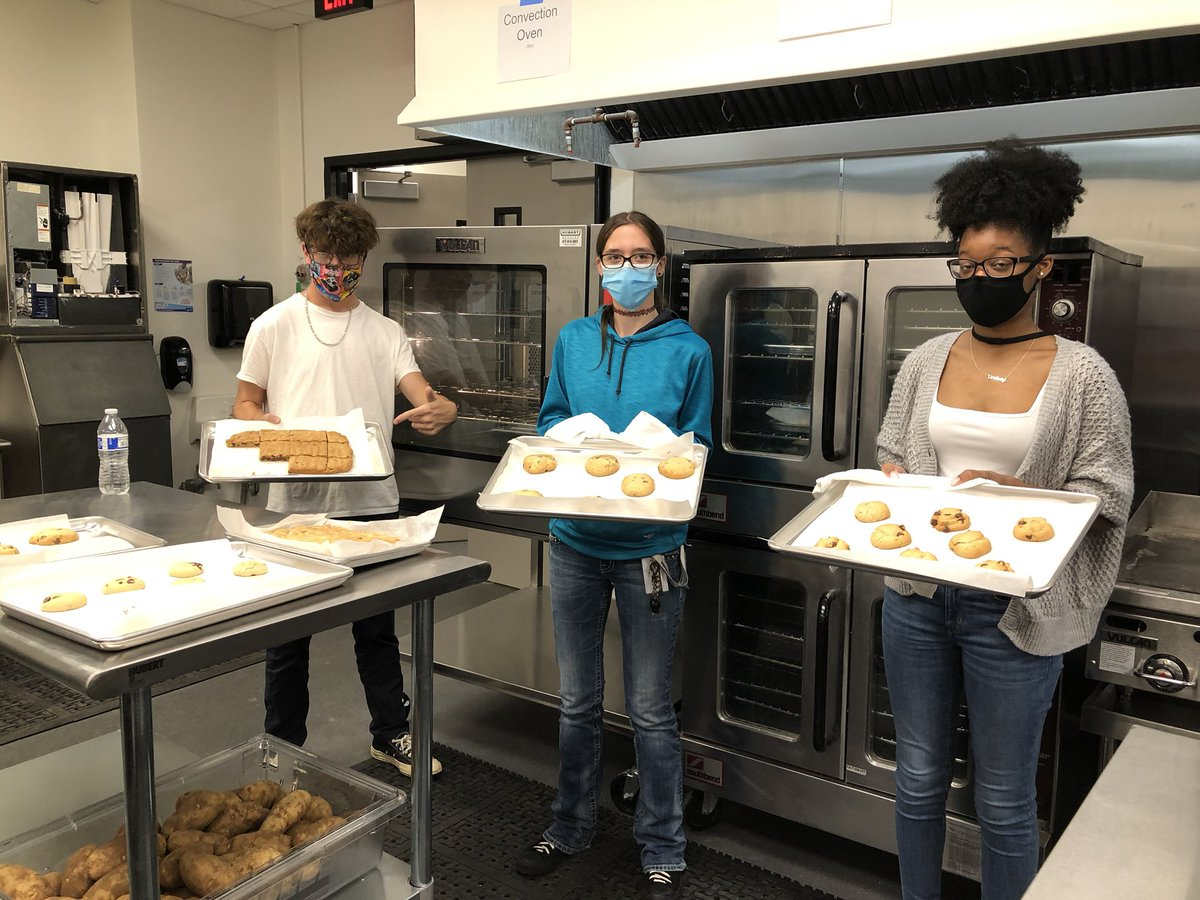 Can you smell the goodness baking at The MILE? Culinary arts students in action! #MISDproud