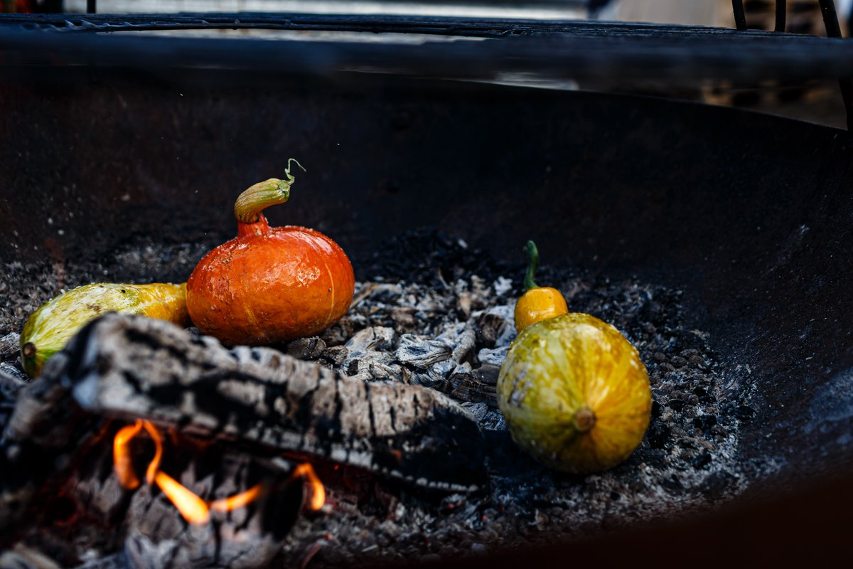 Choose your #veg, rub in oil & salt, place directly in the coals, after allowing the flames to die down, the coals should have turned grey. Occasionally turn the veg until perfectly #charred. Order your #vegbox today & have #dirty weekend/week. #bbq #vegbox #delivery https://t.co/4221sTFCu2