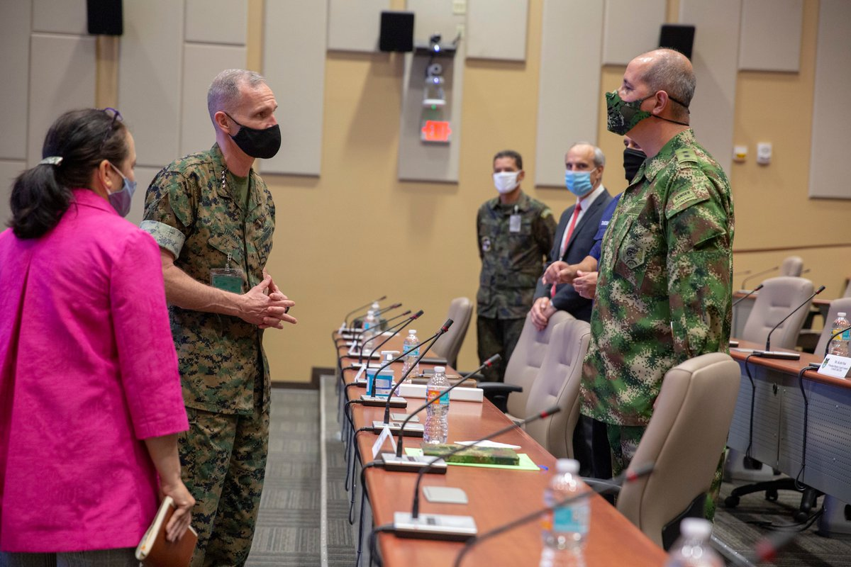 Gen. Gary L. Thomas, the assistant commandant of the @USMC, said the #MarineCorps intends to return to global maritime campaigning, which has clear implications in the @Southcom region consisting of Latin America and the Caribbean. Read more: dvidshub.net/r/bj5hlx
