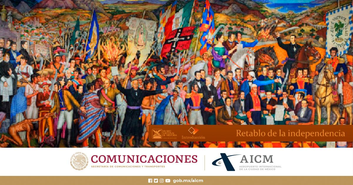 Hoy se conmemora a los héroes de la Independencia de México que dieron su vida por la patria. #DíadelaIndependencia #AICM https://t.co/QXryHfuzTc