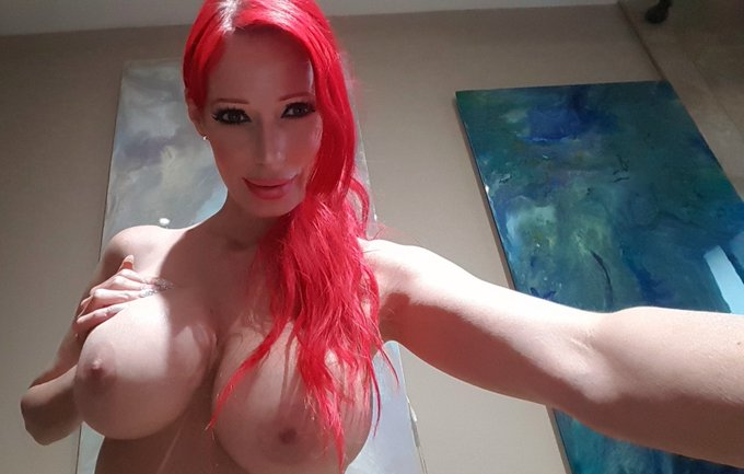 Something pretty for my #twitter fans.....thank you for #following   I need some cream for my #boobs