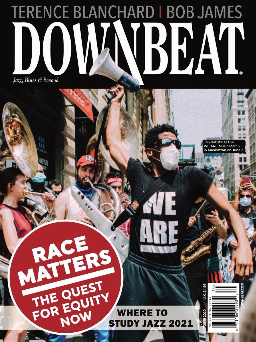 Thank you @DownBeatMag 🖤🙏🏾