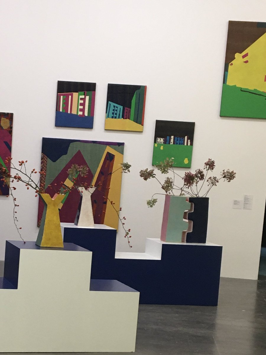 Shezad Dawood's multi-medium artwork at @WIELS_Brussels https://t.co/zYawGMQBAL