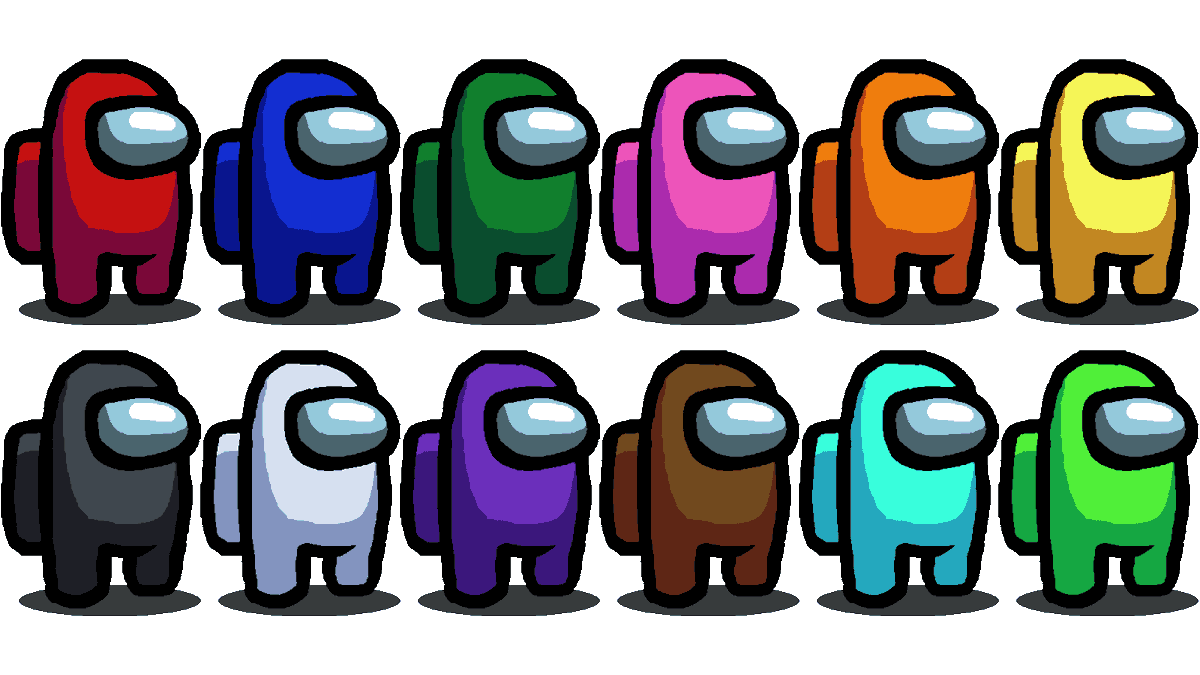 """Tanka (COMPLETE: 0/2) on Twitter: """"hey can people not use the crappy renders for colors in """"Among Us"""" and just try these out? They're aliased so they can be edited much easier ^^…"""