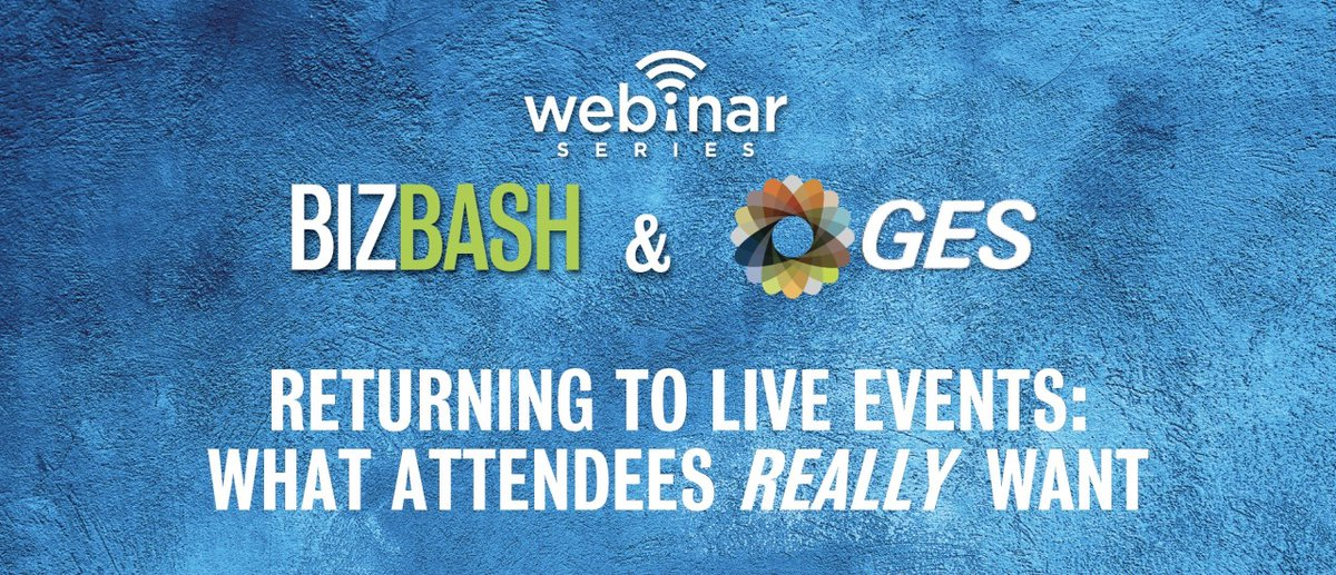 Curious about what new segments developed from our recent attendee survey? Watch the recent webinar where GES and BizBash discussed new information about planning for your next show: https://t.co/lJ8U89o9dV #REfocusREinventREconnectGES #eventprofs #liveevents https://t.co/LkkSw2SdO4