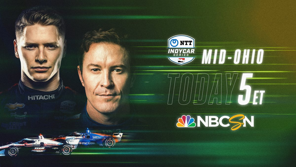 We've reached the final five races of the @IndyCar season.  It's Race Day: Part 1 at @Mid_Ohio. #INDYCAR https://t.co/MWcjOkmbHM