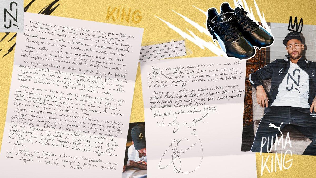 📝 Usando minhas palavras. @pumafootball @PUMA #KingIsBack https://t.co/HJoNXMx3qV