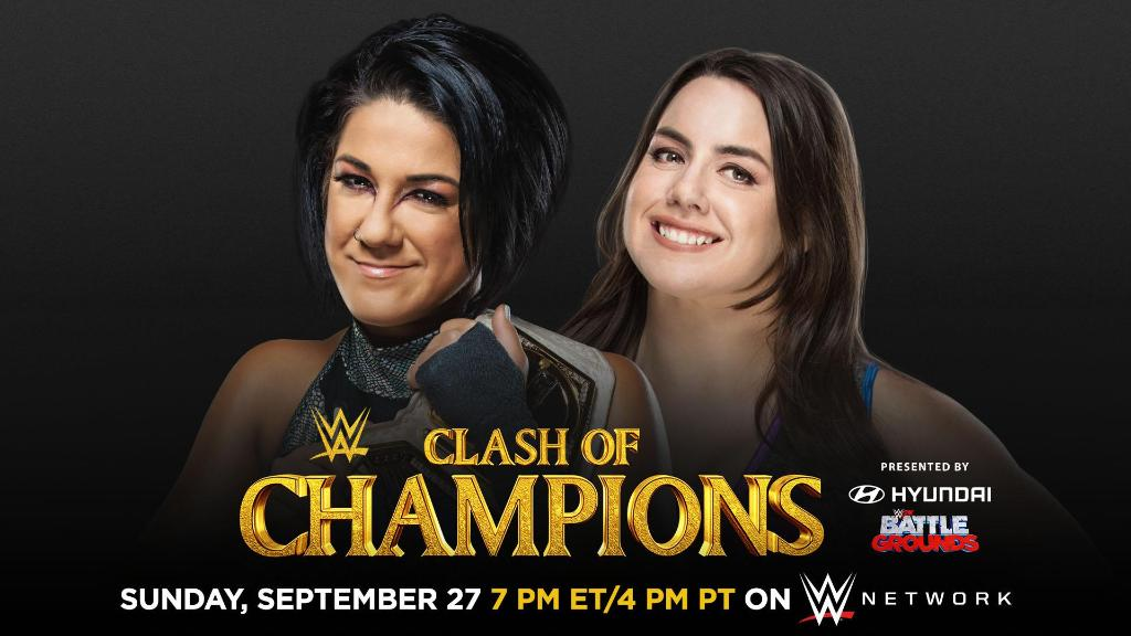 Photo: Official WWE Clash Of Champions 2020 Poster