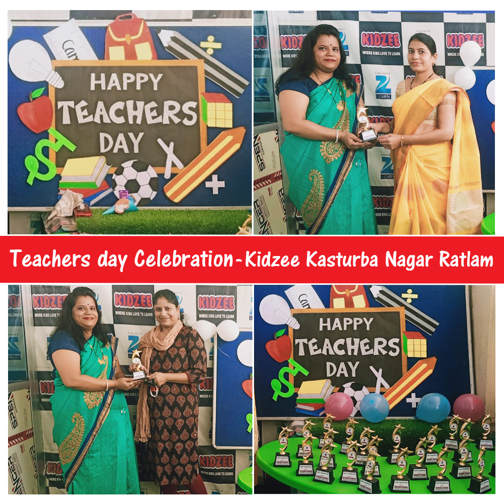 Teacher's Day, is intended to be a special day to show our love & gratitude to all the Teachers. #Kidzee Kasturba Nagar Ratlam appreciated the mothers on #teachersday since they have played a vital role in completing their children's #education in this pandemic time. https://t.co/55x2DxpbyB