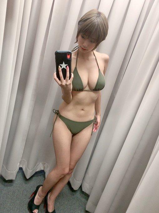 グラビアアイドルななせ結衣のTwitter自撮りエロ画像10