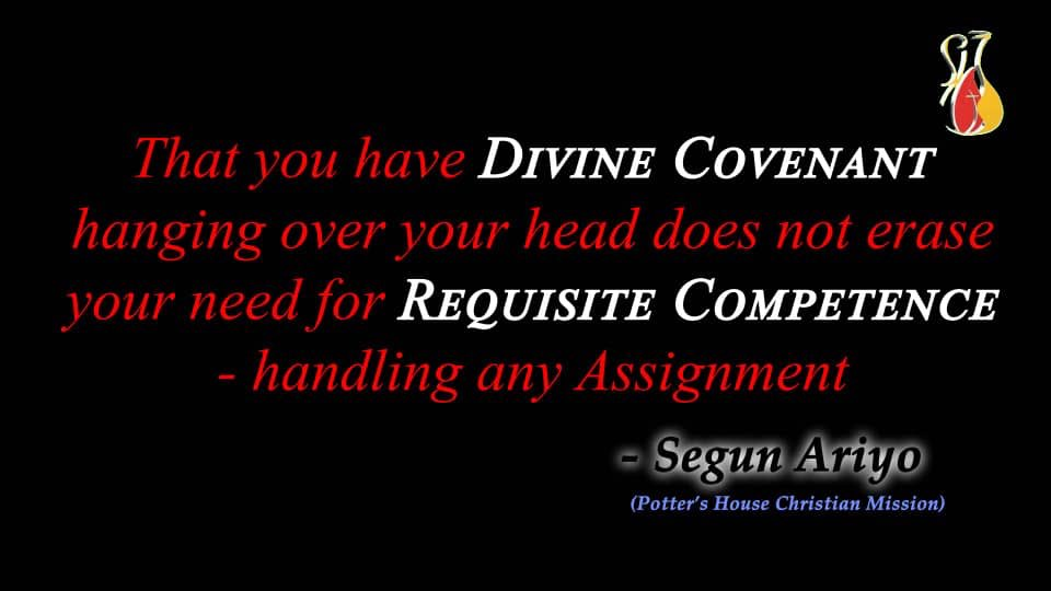 Divine Covenant and Requisite Competence https://t.co/9u9JAzsArd