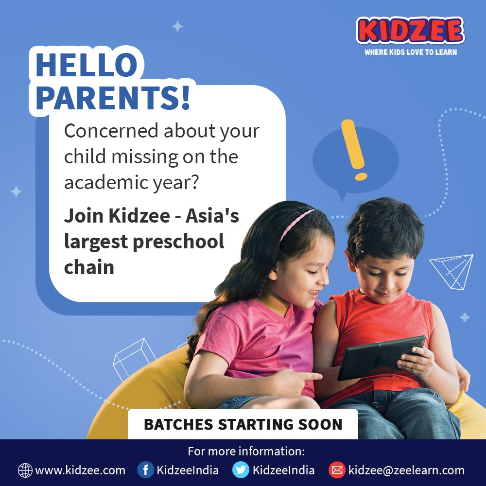 Kidzee is here with a solution that will cater to your child's educational requirements at the right time and at the right place.   Are you ready to find out?   #Kidzee #KidzeeStudents #Education #Academic #Growth #Learning #Development #Activity #Program #School #RemoteLearning https://t.co/NC9pbBbZIK